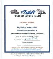 HFEE Online Auction