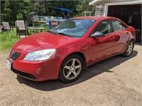 2007 Pontiac G6 Sedan | 146K Miles | Red