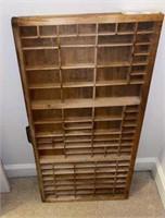 Wood Curio Display