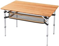 KingCamp Bamboo Folding Table for Outdoor
