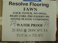 Resolve flooring (Fawn) waterproof x721