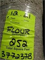 12 x 21 Flour plush carpet - 252 sq. ft.