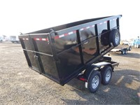 2021 FSTRT 6.5x12 T/A Dump Trailer