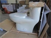 Tofino Dual Flush elongated one piece toilet kit