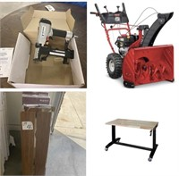 Tools, Flooring, Furniture, Blinds, and Other New Items
