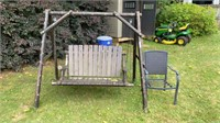 Swing And Outdoor Chair