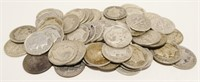 50x Roosevelt Silver Dimes (1950's)
