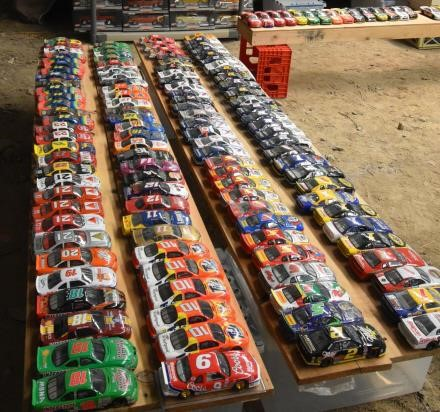 Large Collection of Model Cars & NASCAR Die Casts