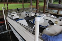 2006 Bayliner 175 17' bow rider with a 3.0L *