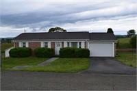 One Level Brick Home for Sale in Pulaski VA