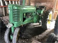 1951 John Deere A tractor restored,