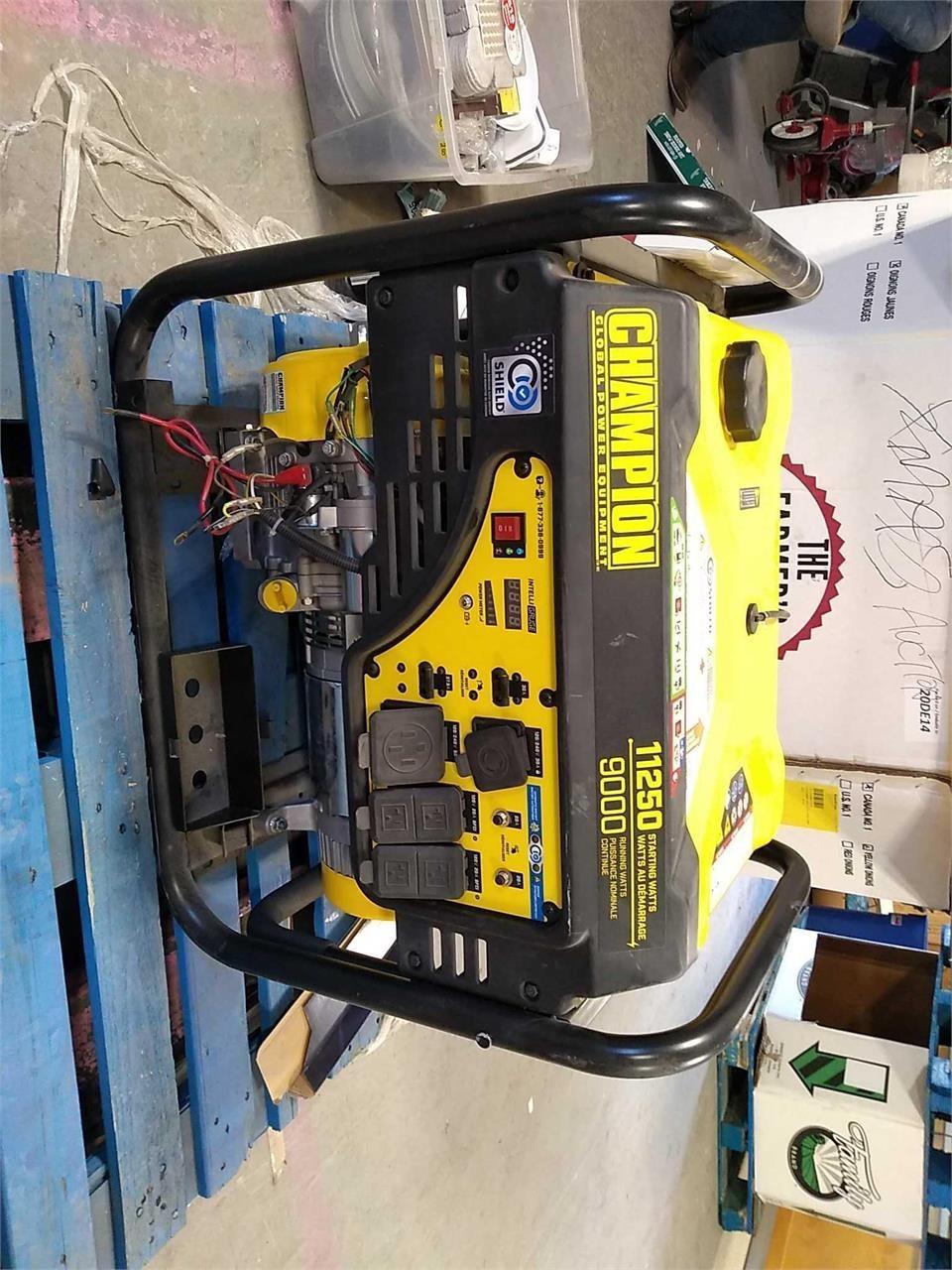 Champion Generator 11250 Starting Watts