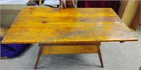 Pine Primitive bakers table