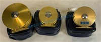 Three scientific angler fly reels, so much a piece