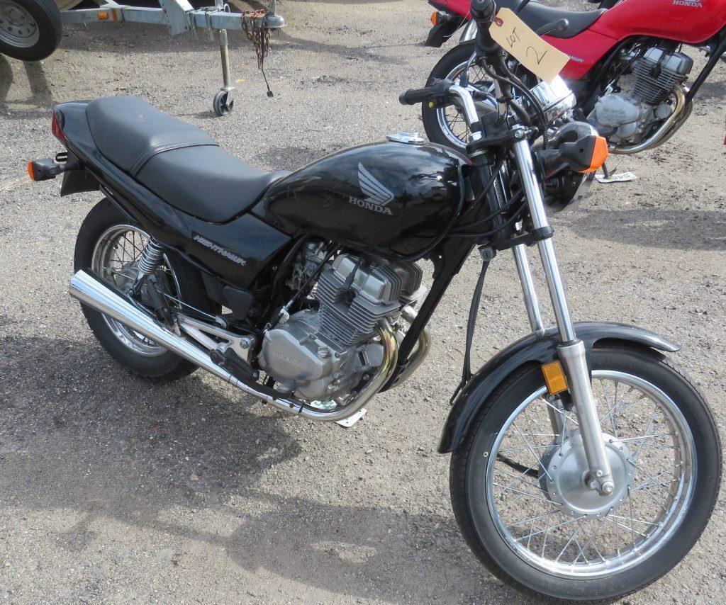 2004 HONDA CB250 NIGHTHAWK 4187 BLACK