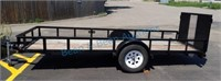 2000 Utility trailer 5' X 14'