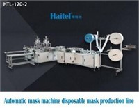 COMPLETE MANUFACTURING LINE, ROBOTS, CONVEYORS AND STERILIZA