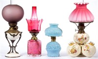 Selection of miniature lamps.