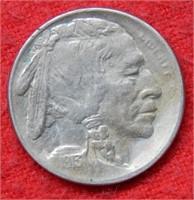 1913 S Buffalo Nickel Type II