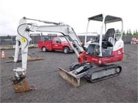 2015 Takeuchi TB230 Hydraulic Excavator