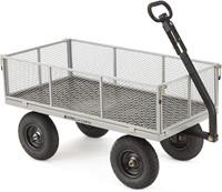Gorilla Carts Heavy-Duty Steel Utility Cart