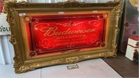 Rare Large lighted Budweiser Millennium Beer