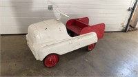 Rare 1950s AMF BMC Cab over COE truck pedal car
