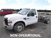 2008 Ford F350 S/A Cab & Chassis