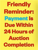 Regular Monday Night Auction - June 21, 2021