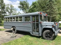 1990 CHEVY PASSENGER BUS, OVER $21k INVESTED