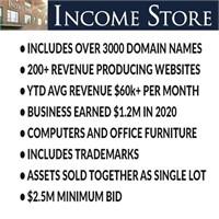 Income Store Liquidation