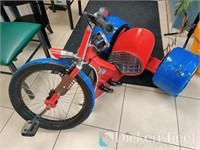 Custom Trikes & Bicycle-Portion of Proceeds to Benefit St Ju