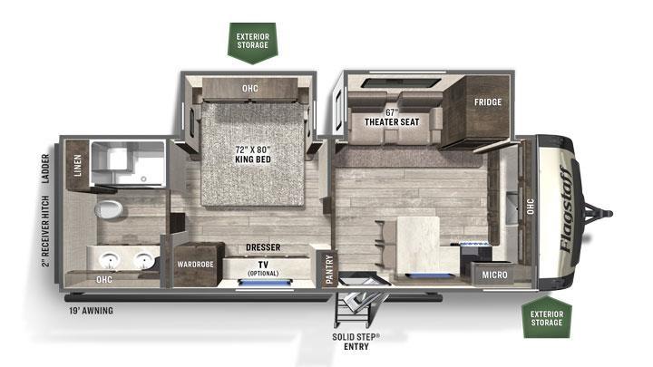 2021 Forest River Flagstaff Super Lite 826mbr M1897521 Family Rv Center