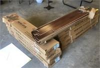 MOHAWK FLOORING: 9 BOXES OAK CHERRY