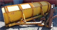 Lot 5003- Front Dozer Blade  Absentee bidding available on this item. Click catalog tab for more information & pictures.