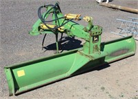 Lot 5010- John Deere 15 Rear Blade   Absentee bidding available on this item. Click catalog tab for more information & pictures.