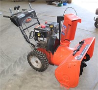 Lopt 5014- Ariens Deluxe 30 Snow Blower    Absentee bidding available on this item. Click catalog tab for more information & pictures.