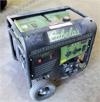 Lot 5016- Cabela's Portable Generator, Remote Start   Absentee bidding available on this item. Click catalog tab for more information & pictures.