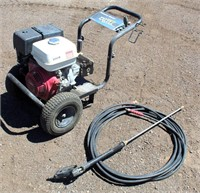 Lot 5017- Ex-Cell DeVilbiss Air Power Washer    Absentee bidding available on this item. Click catalog tab for more information & pictures.