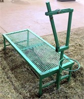 Lot 5024 - Goat/Sheep Shearing Stand   Absentee bidding available on this item. Click catalog tab for more information & pictures.