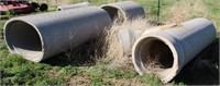 Concrete Water Pipe Pieces