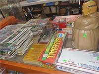 weekly thursday sale 6/24 tack,saddlery,comics,estate items