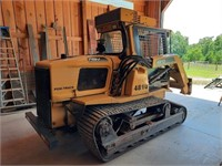 Clean skid steer, dragster, vega part of inventory reduction