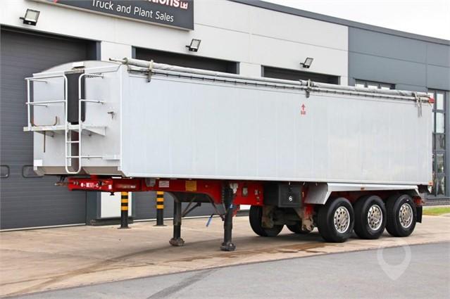 2011 FRUEHAUF TRI AXLE ALLOY BULK TIPPING TRAILER at TruckLocator.ie
