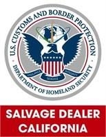 U.S. Customs & Border Protection (Salvage) 7/6/2021 Cali