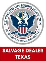 U.S. Customs & Border Protection (Salvage) 7/6/2021 Texas