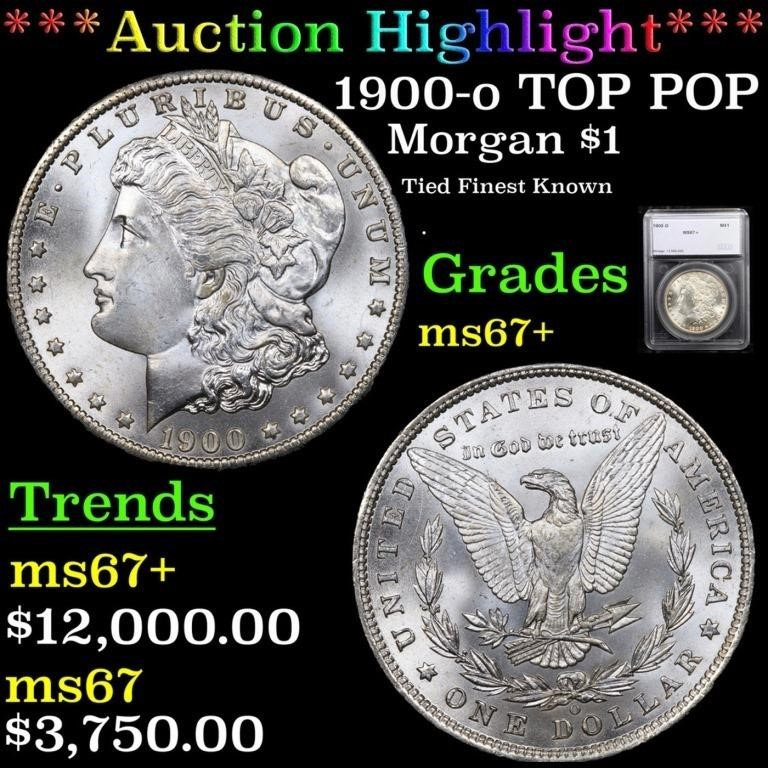 Spring Bonus Coin Consignments Auction