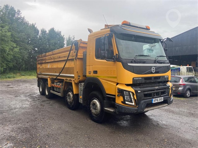 2016 VOLVO FMX410 at TruckLocator.ie