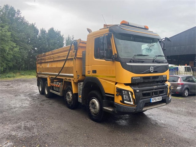 2016 VOLVO FMX410 at www.firstchoicecommercials.ie