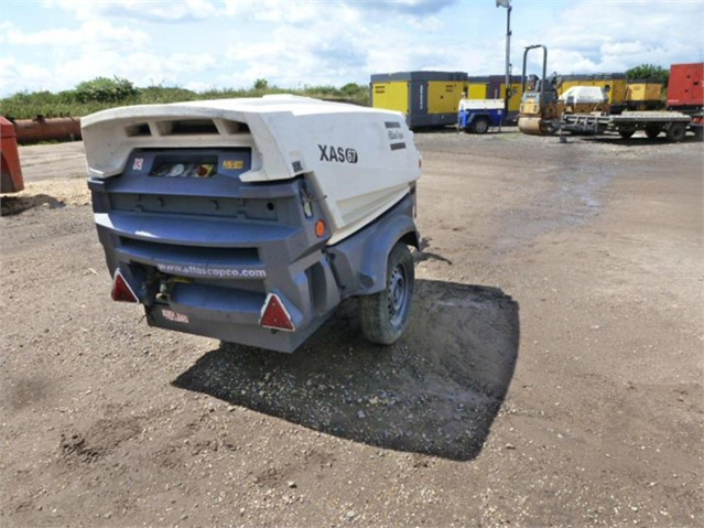 2014 ATLAS COPCO XAS67KD at www.used-compressors.co.uk